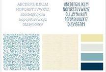 Branding ideas / E-Course design & Branding ideas, colours & fonts
