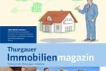 Thurgauer Immobilienmagazin / Unser Thurgauer Immobilienmagazin erscheint 4x jährlich und informiert über die aktuelle Lage des Immobilien Marktes im Kanton Thurgau und den angrenzenden Regionen.