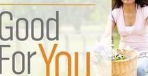 Good For You -  Helpful Tips ⚡ / The SlimGenics motto is Good for You. Good for Life™. Our weight loss plan is truly Good for You. We know a life fueled by real food will take you all the places you want to go.