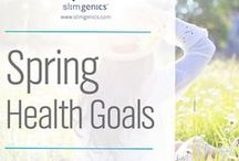 Spring Health Goals! / Let's inspire one another to make this Spring a time of postivity, achievement and things that make our lives better.  Health | Nutrition | Recipes | Inspiration