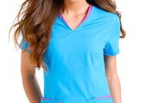 Urbane Essentials / Both Urbane essential scrub tops and pants are designed to help nurses look good and feel great. The small unique details make the Urbane essential scrubs really interesting. The wide variety of colors and styles ensure you can easily mix and match your nursing scrubs.