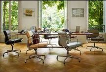 Office / Not only does Vitra produce extraordinary funiture for private homes, office furniture is also part of the product range. Quite often, Vitra plans the entire arrangement of office spaces.