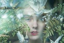 Enchanted Forest / Dreamy surreal images of boho babes and mother nature / by Kindling & Co.