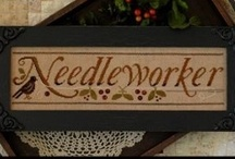 Needlework obsession / These are cross stitch and counted canvas pieces I have or would like to add to my collection.