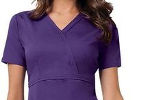 Cherokee Luxe / One can easily fall in love with the Cherokee Luxe scrubs. The latest Cherokee line is a sure winner as it fuses comfort with style and flexibility. It uses a fabric that stretches to give wearer comfort and flexibility, modish and slimming styles, and cutting-edge details and accents to come up with scrubs that will exceed anyone's expectations.