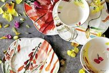 Floral Prints / flowers and leaves on everything please! / by Kindling & Co.