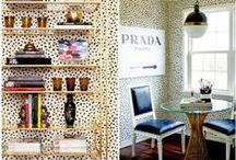 Animal Prints / Animal print rugs & decor, sheepskin, animal inspirations...