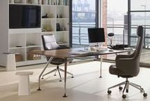 Office Chairs / A comfortable office chair is the basis to constructive work. Besides, it is probably the chair you spent the most time sitting on throughout your daily life. This is why, it should not only be just comfortable, but also nice to look at.