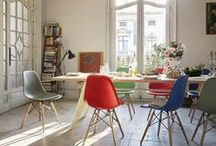 Eames Plastic Chair / 'Getting the most of the best to the greatest number of people for the least': with these words, Charles and Ray Eames described one of their main goals as furniture designers. None of their other designs come as close to achieving this ideal as the Plastic Chairs.