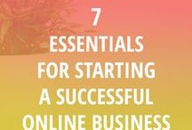 "Starting an Online Business / Starting a successful online business doesn't have to be hard - just do what the pros do! Tips, tools, and ""things I wish I knew when I started my business"" advice will get you on your way."