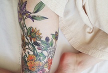 INK / I had to leave the house of self-importance To doodle my first tattoo To realize a tattoo is no more permanent Than I am- Ani / by GrayDayStudio { Abigail }