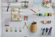 Organize my studio please / by GrayDayStudio { Abigail }