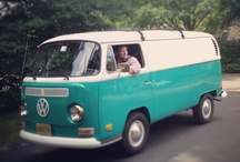 Making over our VW van... / we are now the owners of a 1970 VW panel van. It's turquoise and the interior is a blank canvas. It has windows on one side and we might add more to the opposite... this is an inspiration board for our eventual upgrade.