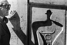 """Le Corbusier / """"La clé, c'est: regarder, observer, voir, imaginer, inventer, créer"""" Le Corbusier"""