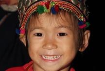 """Portraits """"Ethnies du Haut Tonkin"""" / Sophie, voyageuse Huwans, nous propose une galerie de portraits des ethnies vietnamiennes rencontrées durant son voyage"""