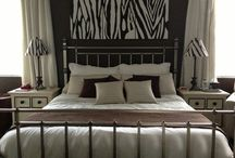 This Master Bedroom / Brown and White Bedroom