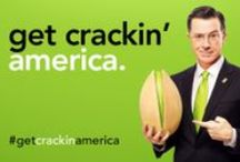 #GetCrackinAmerica / Watch Stephen Colbert tease his Wonderful Pistachios Big Game commercial, then get ready to #GetCrackinAmerica / by Wonderful Pistachios