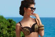 Beach Baroque / Lise Charmel, Beach Baroque Swimwear 2014, Bain 2014