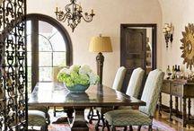 Mediterranean Dining Room / My dining room project.