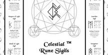 ANS Oracle Decks for Sale / Oracle Decks created by All Natural Spirit, inspired by the Elder Futhark Runes. Celestial Rune Sigils - The Metaphysician's Tools box (bindrune oracle). Mini Travel Rune Oracle.