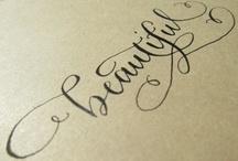 calligraphy / by Ara Delon