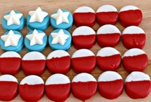 All American 4th July Party / 4th July ideas for your parties and celebrations - or for any event that you want to have that 'All American' feel