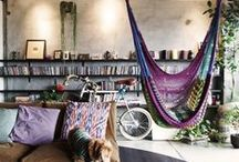 Inside / Cozy homes and inspiring places. / by Christine Hornicke
