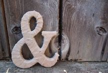 Ampersand ideas / because we love our ampersand here at A&C
