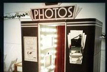 The Booths / Our beautiful vintage styled photobooths