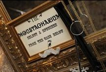 TVPBC Booth Props / Many a pin of fabulous vintage inspired props...including our famous Moustacharium!