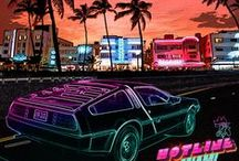 Hotline Miami Stories / Art from this great saga; includes Hotline Miami & Hotline Miami 2: Wrong Number