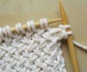 Knitting: Stitches