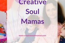 Creative Soul Mamas / Creativity for women seeking or building a creative and soul-fulfilling business and life. For women who love to create.