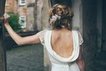 the bride wore...
