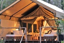 Road Trips + Glamping  / wanderlust inspiration :: from sexy tents to hip trailers and everything in between
