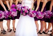 A Purple Wedding / This board was the inspiration for my wedding last summer. Hopefully you'll find inspiration here too!