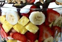 Dessert Salads And Fruits