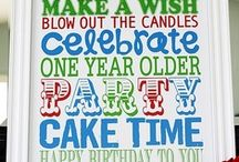 Party,Party,Party / Birthday party ideas for the grandchildren