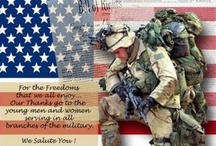 MY AMERICAN HERO'S / Very proud of my families service to our country.My dad (USMC)husband(NAVY) son(USMC)son(ARMY)daughter-in-law(ARMY)and many others.I pinned some of the places they've been.