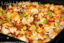 Casseroles / Quick and easy dishes