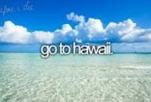 Bucket List / My list of places and things to do.