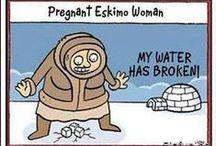 ObGyn Cartoons / Obstetrics & Gynecology, Pregnancy, Nursery & Maternity Cartoons and Comics. #OB