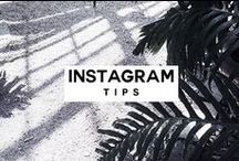 INSTAGRAM TIPS / Helping you grow your online influence and impact though the amazing app that is Instagram