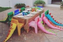 Dinosaur Birthday Party / Inspo for a dinosaur birthday party
