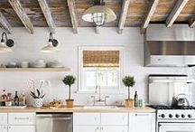 Inspired Spaces / Comfortable, chic, and interesting rooms.