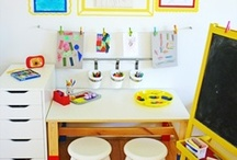 Home {Play spaces} / Incorporating child friendly play spaces in the home. / by Jessica England