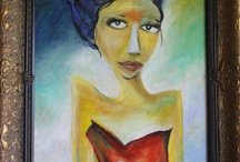 Paintings / Paintings of women with attitude