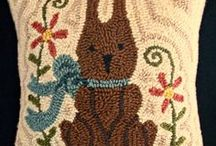 RUG HOOKING / by Mary Catherine (Cass) Allison