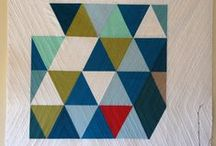 Triangle Quilts / by Maureen Mandy