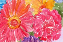 Watercolor / Everything watercolor - may overlap with art journal if in watercolor